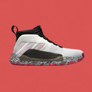 Adidas Dame 5 Review: Side