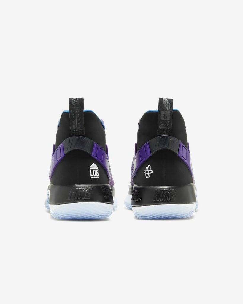 Nike AlphaDunk Review: Back