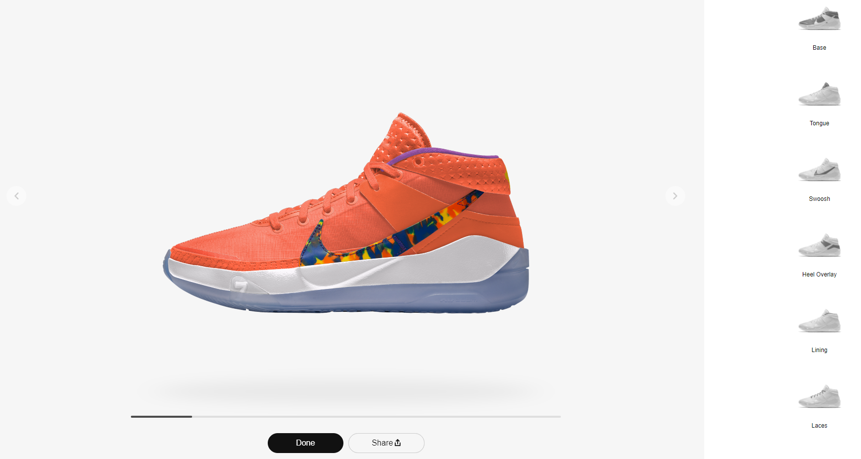 How To Customize YOUR OWN Basketball Shoes: Step 3