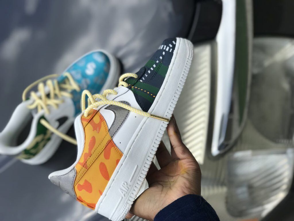 How To Customize YOUR OWN Basketball Shoes: Shoe 3