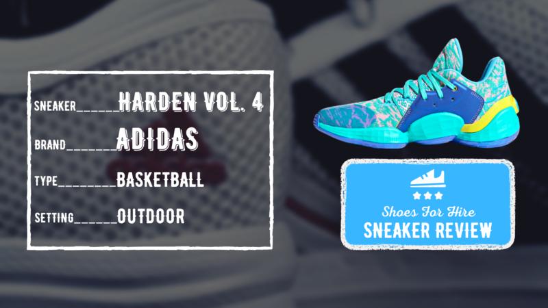 Adidas Harden Vol 4 Review: OUTDOOR Performance Breakdown