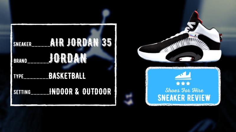 Air Jordan 35 OUTDOOR Performance Review
