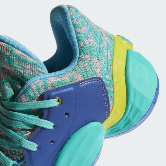 Adidas Harden Vol 4 Review: Heel