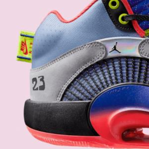 Air Jordan 35 Review: Heel 2