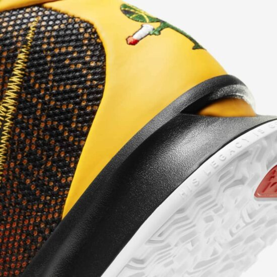 Kyrie 7 Review: Heel
