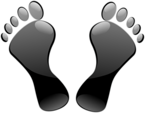 Lightest Basketball Shoes: Feet