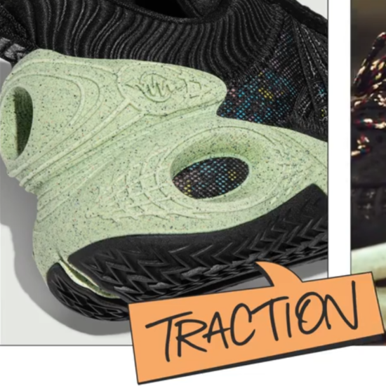 Nike Cosmic Unity Review: Traction