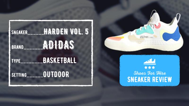 adidas Harden Vol. 5 Review: OUTDOOR Breakdown & Comparison