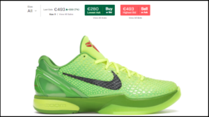 How to Buy Basketball Shoes for Cheap: Example